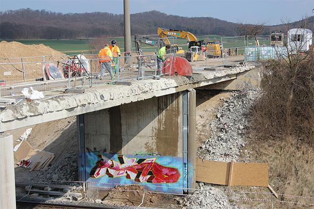 Eisenbahnbrücke Jaerstedt