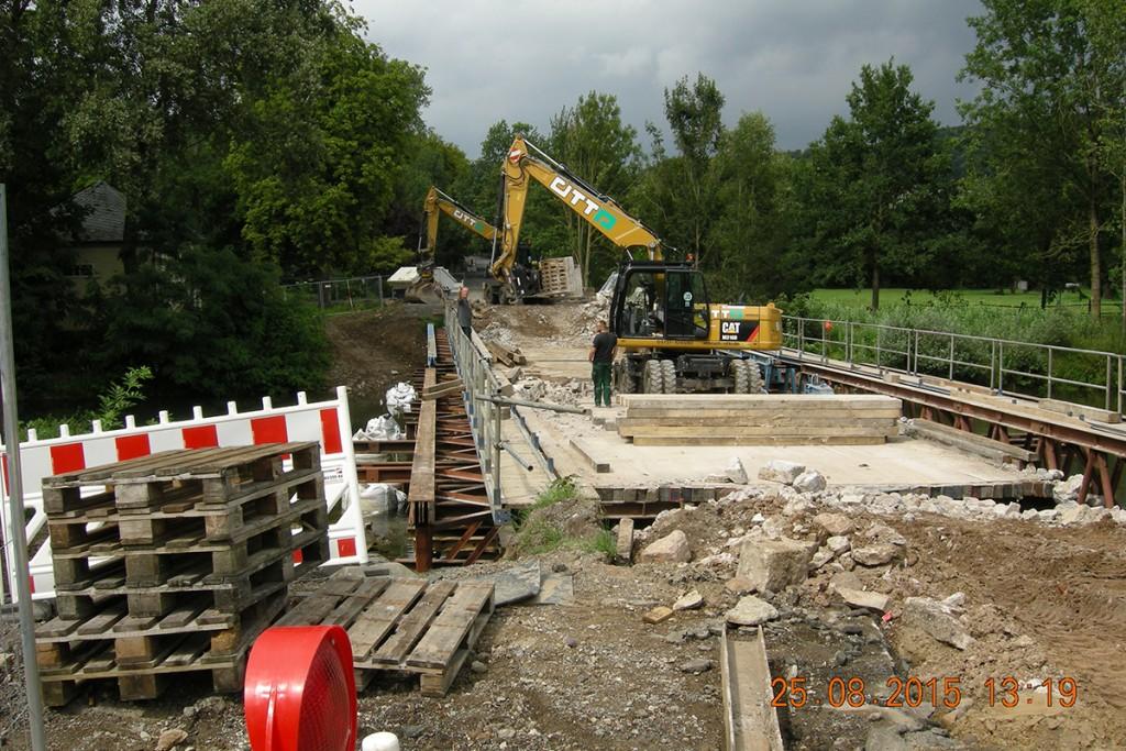 bagger1 Rückbau Freienwalder Brücke – Bad Pyrmont